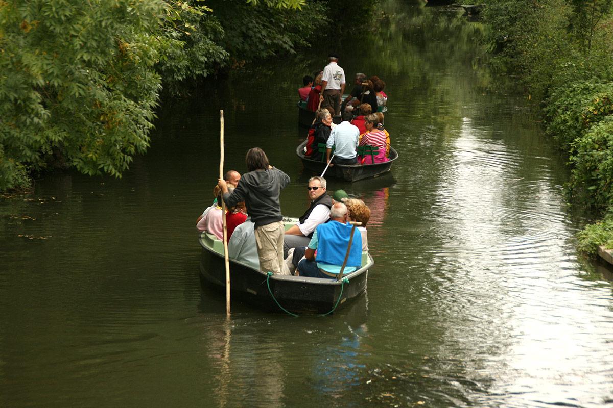 Promenade en barque groupe